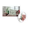 供应HD-2062A墙壁对折叠式钢化板篮球架
