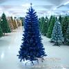 供应1.8m蓝色圣诞树