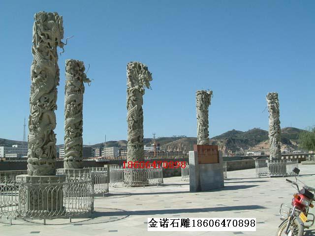 供应石雕石亭、牌坊、石牌楼、龙柱、图腾柱