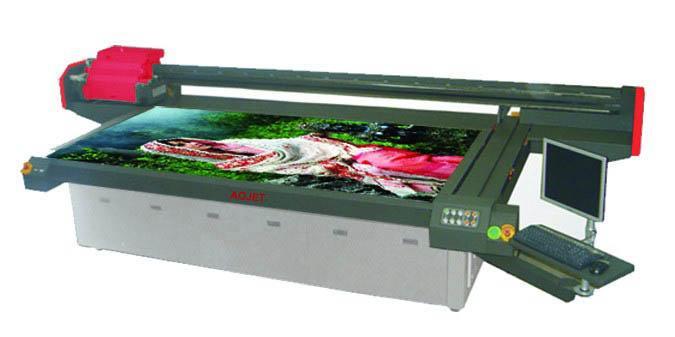 供应傲杰UV平板喷绘机全市最低价格