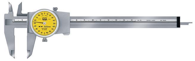 供应TESA附表卡尺0-150
