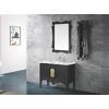 供应简约时尚浴室柜实木浴室柜