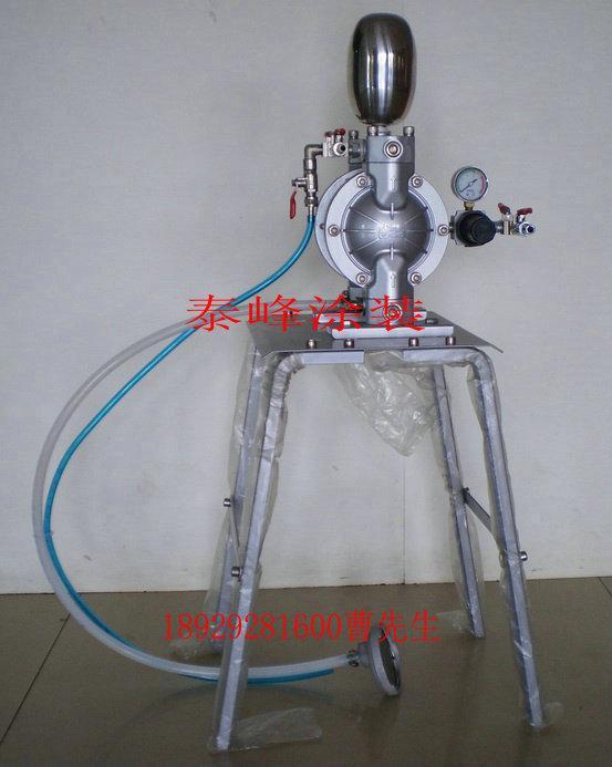 供应台湾三分口径气动双隔膜泵浦,供油泵