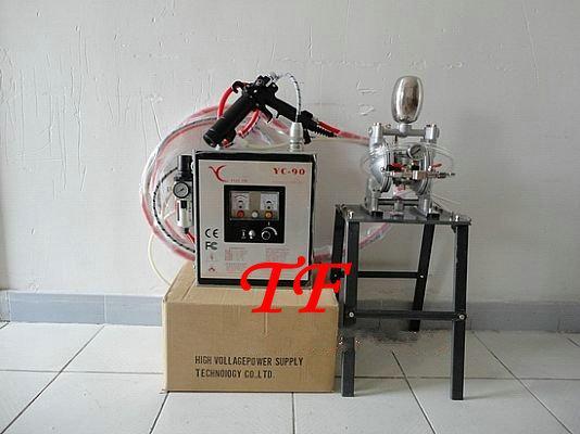 专业供应高雾化型手持式静电油漆喷枪