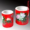 供应中国红瓷笔醴陵红瓷价格茶具中国红瓷价格