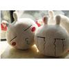 供应南海和兴卡通兔子抱枕广州毛绒玩具