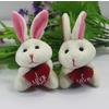 供应可爱兔子挂件 香港毛绒玩具
