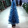 供应蓝色叶子光纤圣诞树