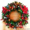 供应彩灯圣诞花环