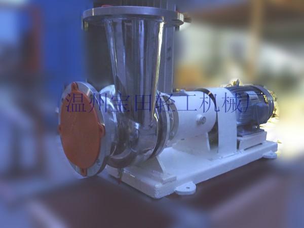BTHD-05直联式混流泵