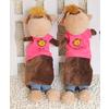 供应新款猩猩笔袋 香港毛绒玩具和兴玩具