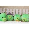 供应新款绿皮猪公仔 南海毛绒玩具和兴玩具