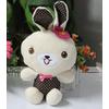 供应带花点子兔公仔价格南海毛绒玩具