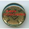 供应17MM锌合金金色滴胶四合钮,K02