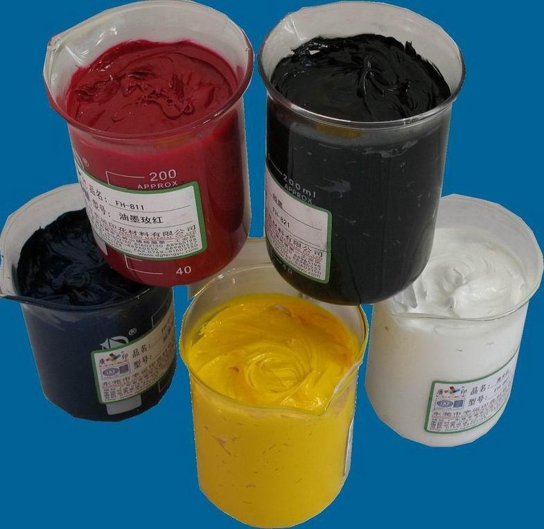供应低温环保热固油墨(不含邻苯二甲酸盐)