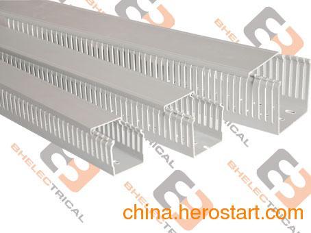 供应优质塑料线槽,4025,5025配电箱布线槽,环保材质线槽