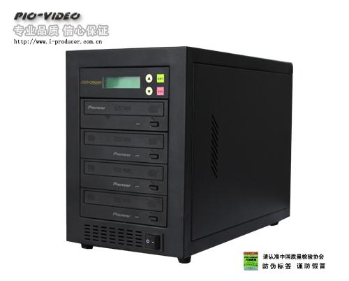 供应pioneer DVR183 一拖三DVD拷贝机