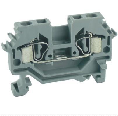 供应【UJ1-2.5/2L弹簧接线端子、弹簧端子、弹簧连接】