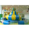 儿童游乐设备电动玩具充气弹跳玩具转马淘气堡室内螺旋飞碟UFO