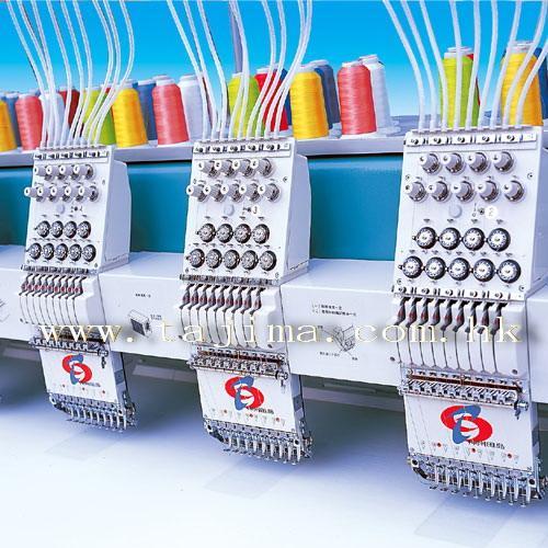 供应神州田岛STKN电脑绣花机 适于高速生产 精细刺绣