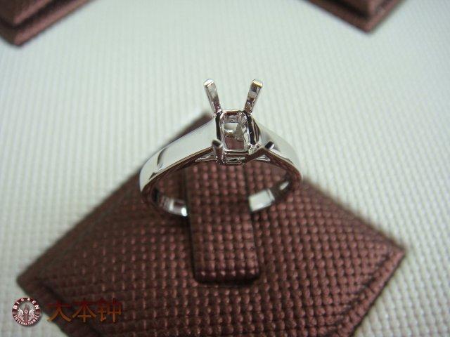供应经典四爪戒托 钻石镶嵌款式 珠宝镶嵌工艺 钻石戒指托