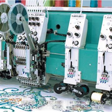 供应 田岛TLMX系列(组装) 环缝刺绣,盘带及卷绣刺绣机
