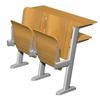 供应学校家具/长沙学校办公家具/长沙地区采购自动回味消声排椅/长沙青之源办公家具品牌家具