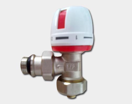 供应手动温控阀 铝塑角阀 乘时专业暖通阀批发