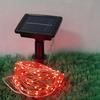 供应太阳能铜线灯串 圣诞灯串 圣诞彩灯