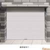 深圳龙华大浪卷闸门批发价格 华南城电动门 火车站玻璃门修理