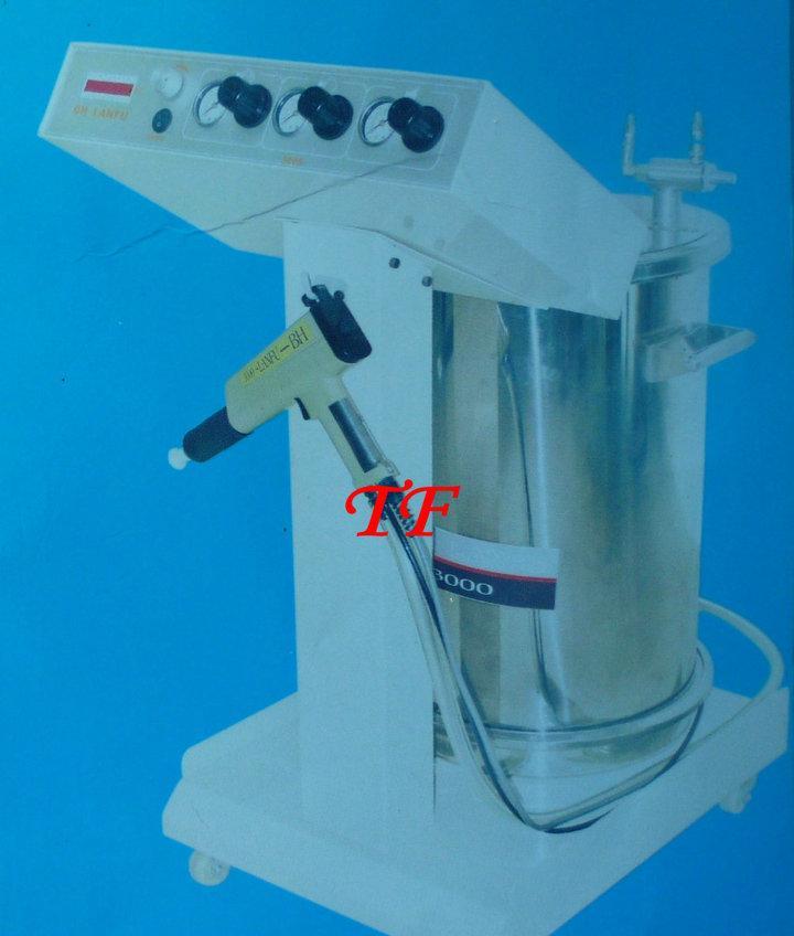 供应台制高性能静电粉体喷枪,轻便型粉体静电喷涂机