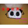供应熊猫毛绒卡通口罩 熊猫口罩