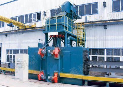 供应QH系列钢结构抛丸清理机