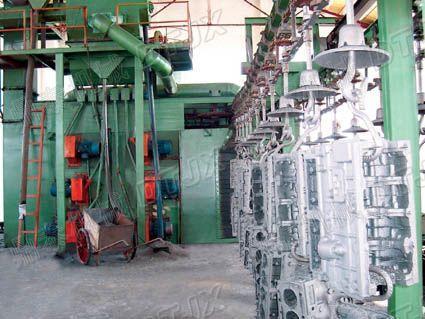 供应QS38.48.58系列吊钩通过式抛丸机