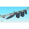 供应单轨吊矿用液压电缆托运车