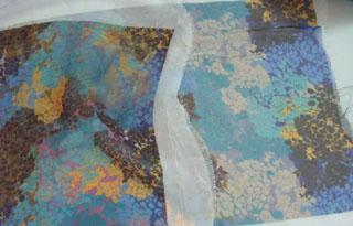 供应雪纺布围巾数码印花