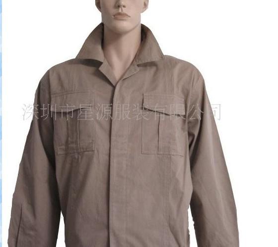 涤卡纱卡工作服、劳保工作服装、工业防护服装