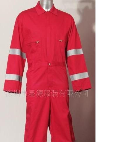 防火服联体、全棉阻燃面料防护工作服装