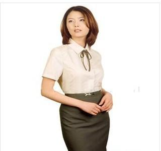 订做职业套装、商务衬衣、男女高档衬衫、风压领衬衫工作装