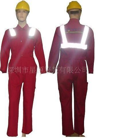 特殊多功能劳保防护服装、防静电、防火、防油联体工作服