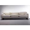 供应意大利家具产品 cassina 白色真皮三人沙发