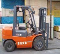 供应莱芜全新3吨合力叉车半价转让手续工具齐