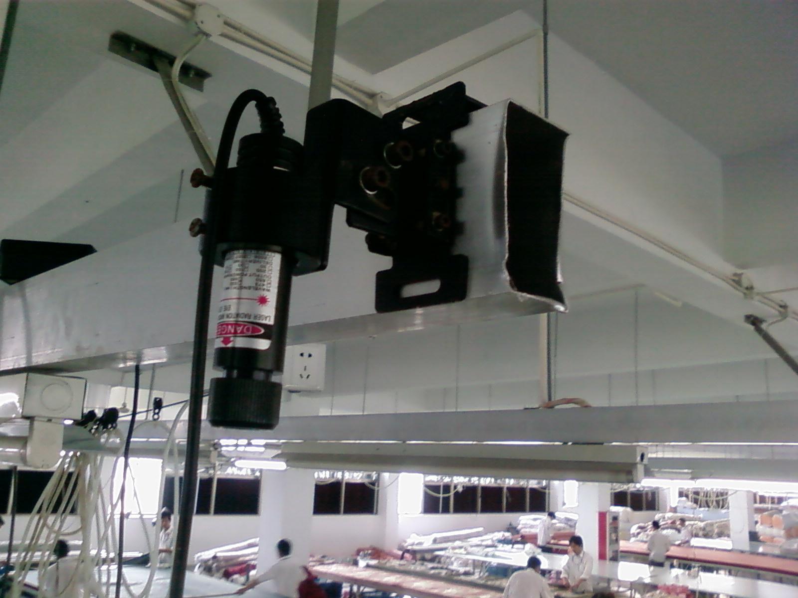 供应服装机械专用激光定位灯