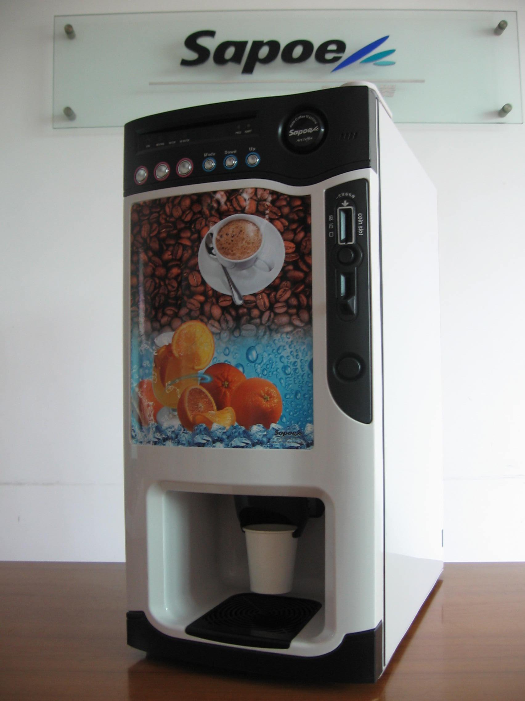 供应咖乐台式三冷三热咖啡机