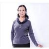 中老年女装中年人胖太太韩版妈妈装秋季2011秋冬长袖毛领T恤