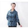 中老年春秋装妈妈装气质妈妈外套九分袖单外套中老年服装1103