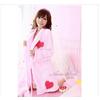 维多利亚韩日系可爱性感珊瑚绒睡衣家居服爆款爱心睡袍浴袍
