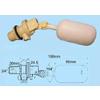 供应塑料补水控制浮球阀、常温浮球阀开关