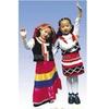 儿童表演服装/儿童民族服装/满族服饰幼儿表演服饰
