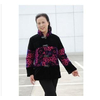中老年服装女装冬装新款棉衣中老年妈妈装丝绒外套L0112